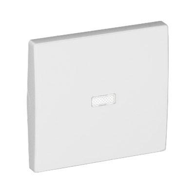 Tecla blanca para interruptor luminoso Efapel 50602 T BR Apolo 5000