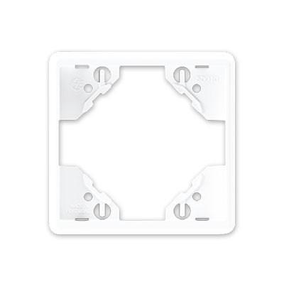 Marco 1 elemento Efapel 50910 T BR blanco Apolo 5000
