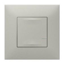 Interruptor iluminación conectado Legrand 741840 Valena Next with Netatmo aluminio