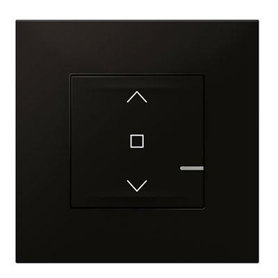 Interruptor de persianas conectado Legrand 741867 Valena Next with Netatmo dark