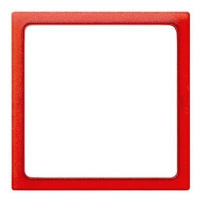 Pieza intermedia rojo translúcido Simon 27 play 2700670-110 1 ventana