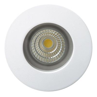 Aro empotrable LED blanco GU10 protección IP65