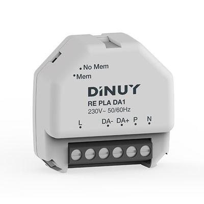 Regulador DALI lámparas LED Dinuy RE PLA DA1