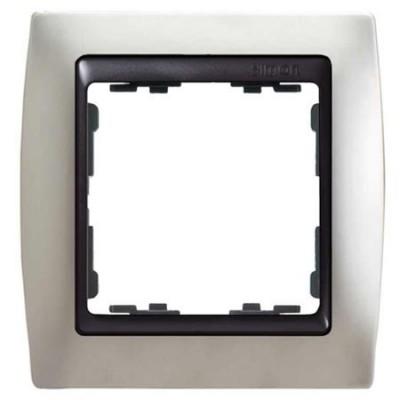 Marco  simon 82814-33 aluminio mate 1 elemento grafito