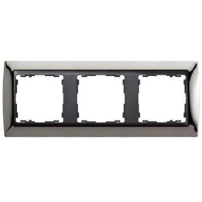 Marco Simon 82834-67 acero oscuro 3 elementos serie grafito