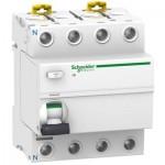 Interruptor Diferencial Schneider A9R84425 de 25A 4 polos clase AC