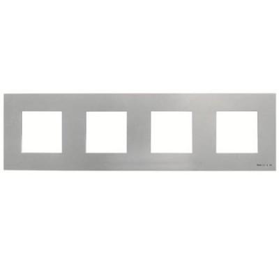 Marco Niessen n2274pl 4 ventanas 2 modulos plata serie zenit