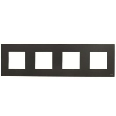 Marco 4 ventanas 2 modulos antracita n2274an serie zenit niessen