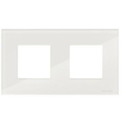 Marco Niessen n2272cb 2 ventanas 2 modulos cristal blanco zenit