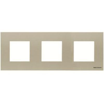 Marco Niessen n2273cv 3 ventanas 2 modulos cava serie zenit