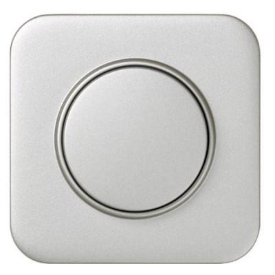 Tapa boton regulador electronico simon 31054-33 aluminio