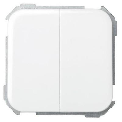 Grupo 2 conmutadores blanco simon 31397-30
