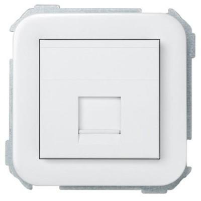Adaptador conexion informatica simon 31085-60 blanco