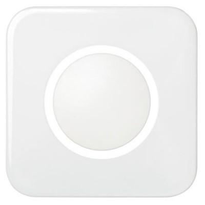 Tapa disco gama tacto simon 31034-32 blanco