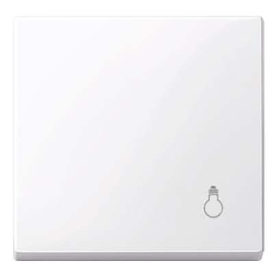 Tecla blanco activo símbolo luz MTN438925 Elegance