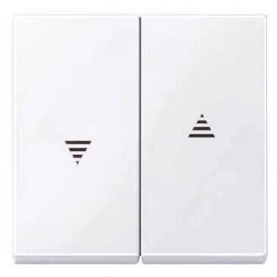 Tecla interruptor persianas blanco activo MTN432425