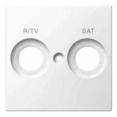 Tapa toma antena TV-SAT blanco activo MTN299825