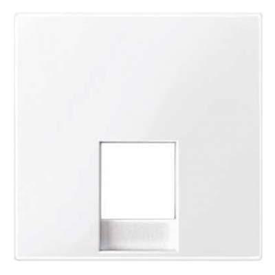 Tapa toma de teléfono en color blanco activo MTN469625