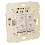 Doble Interruptor Efapel 21061 Mec 21 unipolar