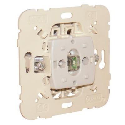 Interruptor bipolar Efapel 21024 con piloto de señalización 20A