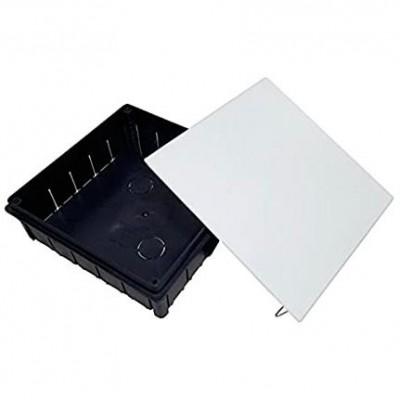 Caja solera 624 conexion tapa garra metalica 250x250x60