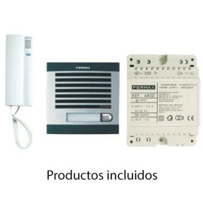 Portero Fermax 6201 Citymax 1 linea