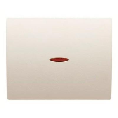 Tecla con visor interruptor Niessen 8401.3 bl blanco jazmín olas