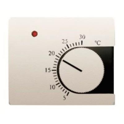 Tapa Niessen 8440bl termostato calefacción blanco jazmín Olas