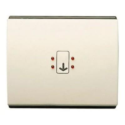 Tapa visor interruptor tarjeta Niessen 8414 bl blanco jazmín olas