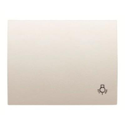 Tecla niessen 8404.2bl pulsador simbolo luz blanco jazmin olas