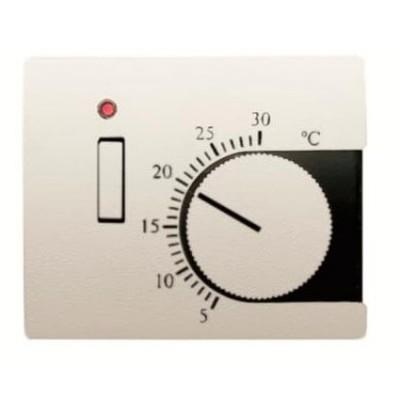 Tapa termostato Niessen 8440.1bl blanco jazmín Olas