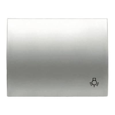 Tecla Niessen 8404.2 tt para pulsador simbolo luz titanio olas