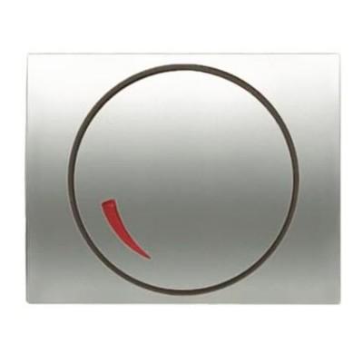 Tapa regulador electrónico Niessen 8460.2 TT titanio Olas