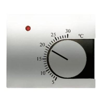 Tapa Niessen 8440 tt termostato calefaccion titanio Olas