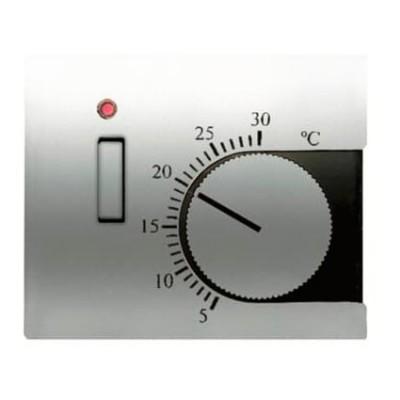 Tapa Niessen 8440.1 tt termostato interruptor titanio Olas