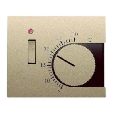 Tapa termostato interruptor Niessen 8440.1ar arena Olas