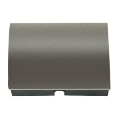 Tapa salida cable pulsador tirador Niessen 8407 ap acero perla olas