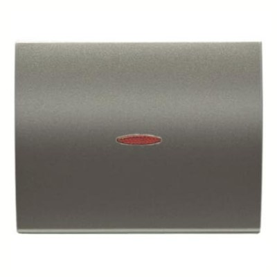 Tecla con visor interruptor Niessen 8401.3 ap acero perla olas