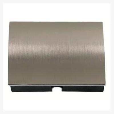 Tapa salida cable pulsador tirador Niessen 8407 al acero pulido olas