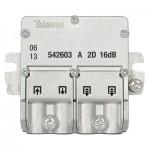 Derivador plantas 2 3 televes 542603 conector easyF