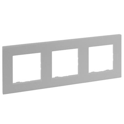 Marco Legrand Niloe Step 864373 de 3 elementos aluminio