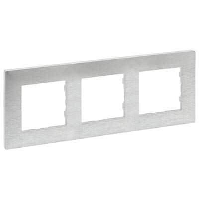 Marco Legrand 864873 Niloe Step aluminio pulido 3 elementos