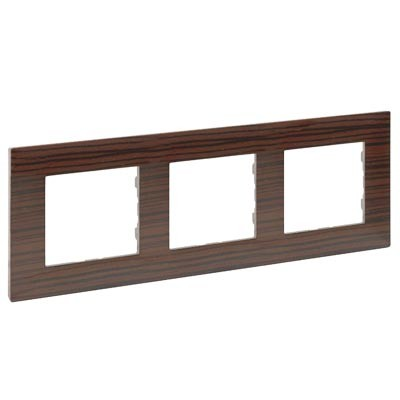 Marco Legrand 864973 Niloe Step madera oscura 3 elementos