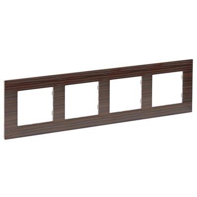 Marco Legrand 864974 Niloe Step madera oscura 4 elementos