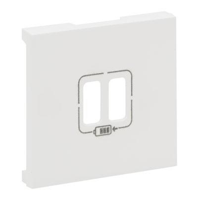 Tapa cargador USB Legrand 864124 Niloe Step blanco