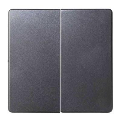 Tecla doble cruzamiento Simon 8202126-096 concept titanio