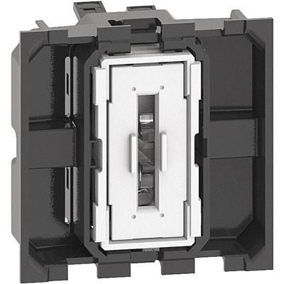 Interruptor 2 módulos Bticino Living Now K4001M2A