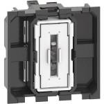 Pulsador 2 módulos Bticino Living Now K4005M2A