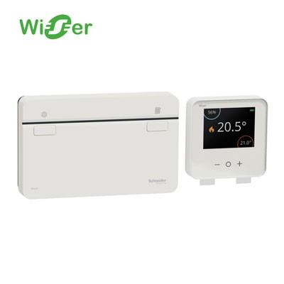 Kit termostato Wiser Schneider CCTFR6901