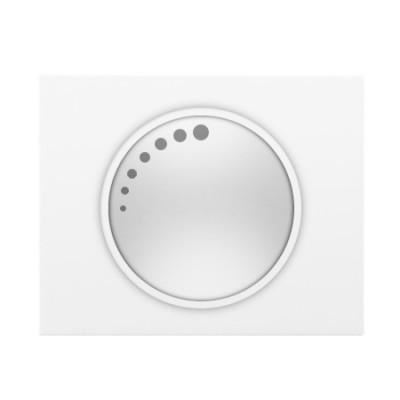 Tapa boton regulador blanco 18749 serie Iris Bjc